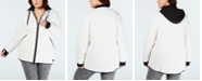 Calvin Klein Plus Size Quilted Hooded Jacket