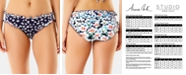 Anne Cole Studio Lettuce Be Cheeky Bikini Bottoms