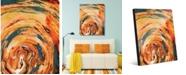 "Creative Gallery Lahhel Abstract 16"" x 20"" Acrylic Wall Art Print"