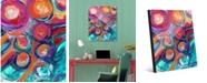 "Creative Gallery Zuzu Delta Abstract 16"" x 20"" Acrylic Wall Art Print"