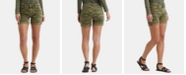 Lucky Brand Ava Camouflage-Print Denim Shorts