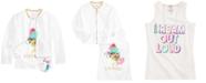 Belle Du Jour Big Girls 3-Pc. Floral-Print Bomber Jacket, Tank Top & Necklace Set
