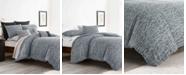 ED Ellen Degeneres Ellen Degeneres Boceto Grey Comforter Set, Full/Queen