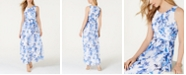 Jessica Howard Floral-Print Maxi Dress