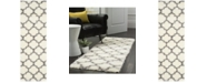 """Safavieh Montreal Ivory and Grey 2'3"""" x 7' Runner Area Rug"""