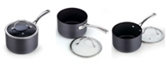 Cooks Standard 3-Quart Hard Anodized Nonstick Saucepan with Lid