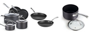 Cook N Home Cooks Standard 8-Piece Hard Anodized Nonstick Cookware Set