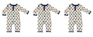 Baby Vision Yoga Sprout Union Suit/Coverall, Lion Collection, 0-9 Months