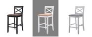Acme Furniture Tobie Bar Chair, Set of 2
