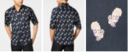 INC International Concepts INC Men's Rose Skull Shirt, Created for Macy's
