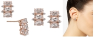 Macy's Morganite (1-1/2 ct. t.w.) & Diamond Accent Drop Earrings in 14k Rose Gold