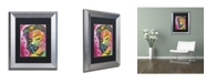 """Trademark Global Dean Russo '017' Matted Framed Art - 14"""" x 11"""" x 0.5"""""""