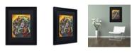 "Trademark Global Dean Russo 'Brilliant Dachshund' Matted Framed Art - 11"" x 14"" x 0.5"""
