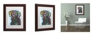"""Trademark Global Dean Russo '27' Matted Framed Art - 14"""" x 11"""" x 0.5"""""""