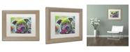 """Trademark Global Dean Russo '30' Matted Framed Art - 14"""" x 11"""" x 0.5"""""""