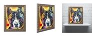 "Trademark Global Dean Russo 'Akita' Ornate Framed Art - 14"" x 11"" x 0.5"""