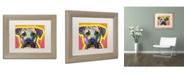 """Trademark Global Dean Russo 'Drip Love' Matted Framed Art - 14"""" x 11"""" x 0.5"""""""