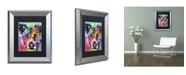 """Trademark Global Dean Russo 'Flipped' Matted Framed Art - 14"""" x 11"""" x 0.5"""""""