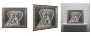 """Trademark Global Dean Russo 'Love Thy Boxer' Ornate Framed Art - 14"""" x 11"""" x 0.5"""""""