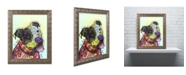 "Trademark Global Dean Russo 'Pure Joy' Ornate Framed Art - 14"" x 11"" x 0.5"""