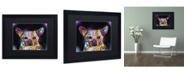 """Trademark Global Dean Russo 'Cheemix' Matted Framed Art - 16"""" x 20"""" x 0.5"""""""