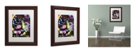 """Trademark Global Dean Russo 'Paul McCartney' Matted Framed Art - 14"""" x 11"""" x 0.5"""""""