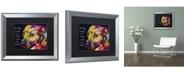 "Trademark Global Dean Russo 'Gratitude Pitbull' Matted Framed Art - 20"" x 16"" x 0.5"""