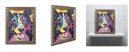 """Trademark Global Dean Russo 'Sheltie' Ornate Framed Art - 14"""" x 11"""" x 0.5"""""""