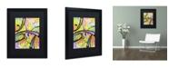 "Trademark Global Dean Russo 'Abstract' Matted Framed Art - 16"" x 20"" x 0.5"""
