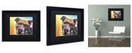 "Trademark Global Dean Russo 'Contemplative Pit' Matted Framed Art - 11"" x 14"" x 0.5"""