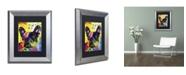 "Trademark Global Dean Russo 'French Bulldog 2' Matted Framed Art - 14"" x 11"" x 0.5"""