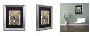 "Trademark Global Dean Russo 'Blanche' Matted Framed Art - 20"" x 16"" x 0.5"""