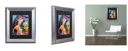 """Trademark Global Dean Russo 'Bella' Matted Framed Art - 14"""" x 11"""" x 0.5"""""""