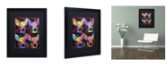 """Trademark Global Dean Russo 'Chihuahua 4x' Matted Framed Art - 16"""" x 20"""" x 0.5"""""""