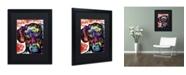 """Trademark Global Dean Russo 'Dox' Matted Framed Art - 16"""" x 20"""" x 0.5"""""""