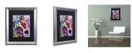 "Trademark Global Dean Russo 'Dreamy Jack' Matted Framed Art - 20"" x 16"" x 0.5"""