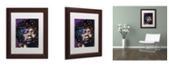 "Trademark Global Dean Russo 'Jimi' Matted Framed Art - 14"" x 11"" x 0.5"""