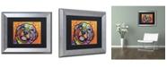 "Trademark Global Dean Russo 'Galle' Matted Framed Art - 14"" x 11"" x 0.5"""