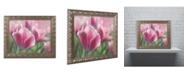 "Trademark Global Cora Niele 'Tulip Mirella Pink' Ornate Framed Art - 20"" x 16"" x 0.5"""