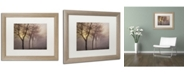 """Trademark Global Cora Niele 'Early Morning' Matted Framed Art - 20"""" x 16"""" x 0.5"""""""