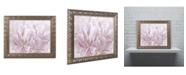 "Trademark Global Cora Niele 'Double Pink Tulip' Ornate Framed Art - 14"" x 11"" x 0.5"""