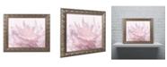 "Trademark Global Cora Niele 'Pink Peony Petals III' Ornate Framed Art - 14"" x 11"" x 0.5"""