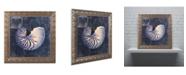 """Trademark Global Color Bakery 'Maritime Blues V' Ornate Framed Art - 16"""" x 0.5"""" x 16"""""""