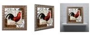 "Trademark Global Color Bakery 'Europa II' Ornate Framed Art - 16"" x 0.5"" x 16"""