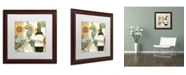 """Trademark Global Color Bakery 'Dolcetto V' Matted Framed Art - 16"""" x 0.5"""" x 16"""""""