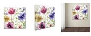 "Trademark Global Color Bakery 'Summer Diary I' Canvas Art - 24"" x 2"" x 24"""