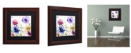 """Trademark Global Color Bakery 'Summer Diary II' Matted Framed Art - 11"""" x 0.5"""" x 11"""""""