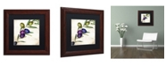 """Trademark Global Color Bakery 'Olive Branch III' Matted Framed Art - 11"""" x 0.5"""" x 11"""""""