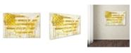 "Trademark Global Color Bakery 'American Dream I' Canvas Art - 24"" x 2"" x 16"""