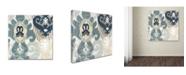 "Trademark Global Color Bakery 'Beach Curry III' Canvas Art - 18"" x 2"" x 18"""